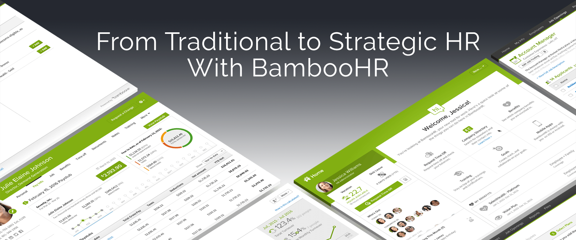 Transition from traditional to strategic HR with BambooHR