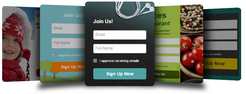 ActiveTrail Sign-Up Forms that Inspire People to Join Your List