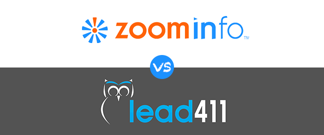 Zoominfo vs Lead411