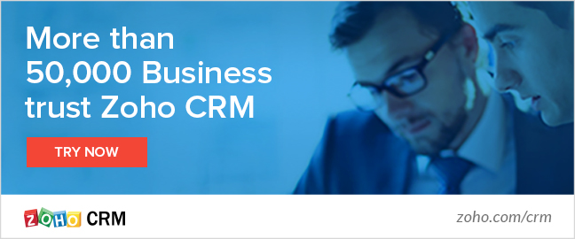 Grow & retain your client base with Zoho's CRM