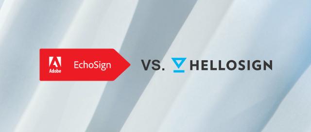 EchoSign vs HelloSign