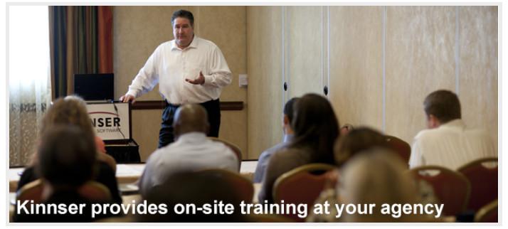 Kinnser On-Site Training