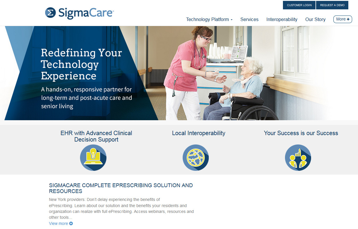 SigmaCare Website