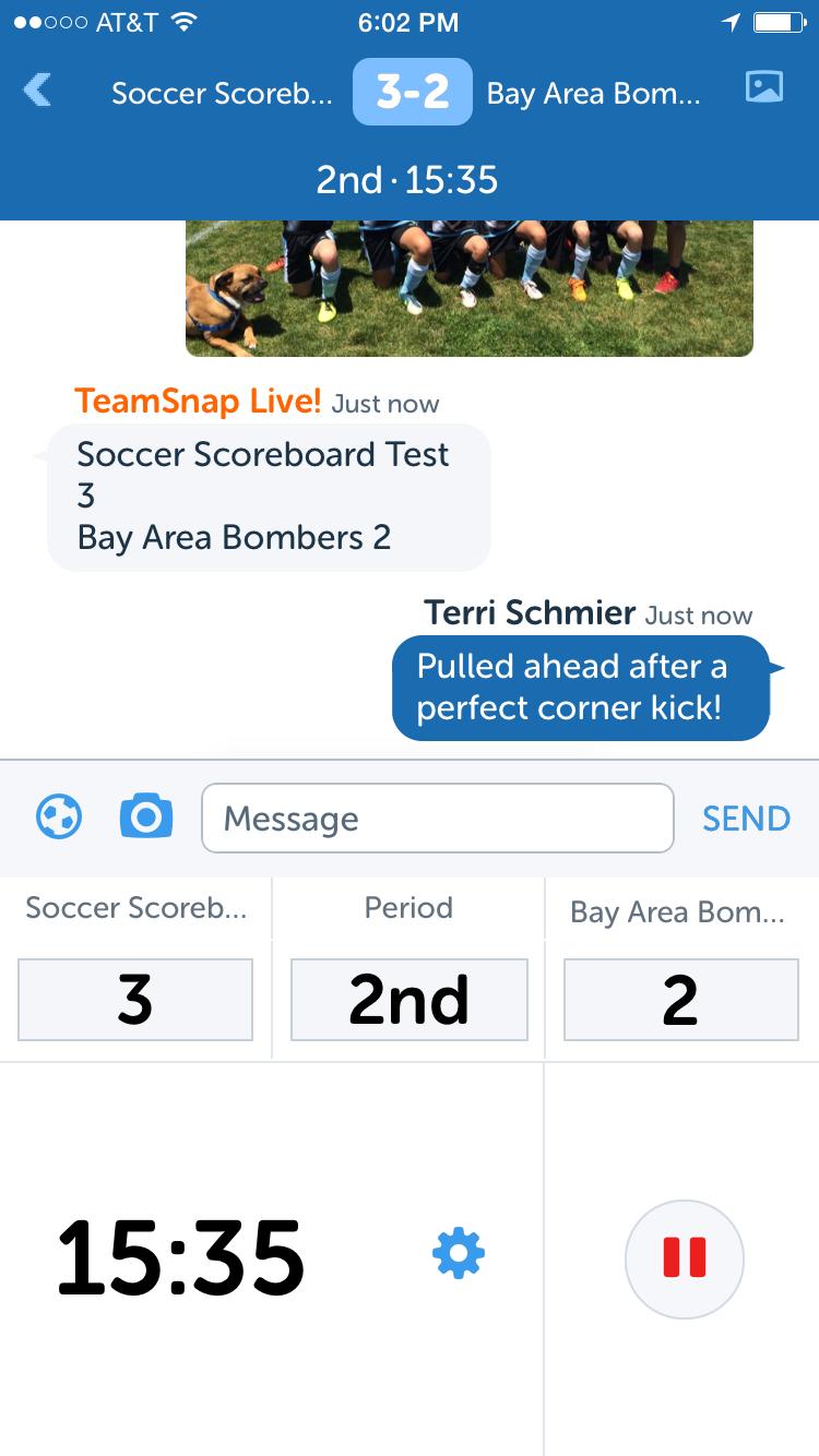 TeamSnap Live