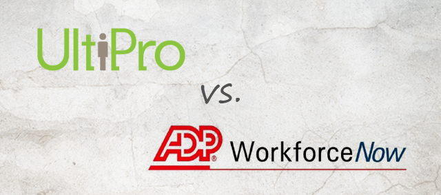 UltiPro vs ADP Workforce