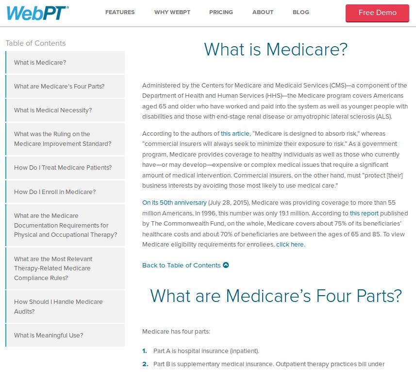 WebPT Guides