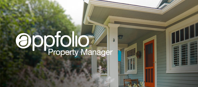 Handle your property with AppFolio Property Manager