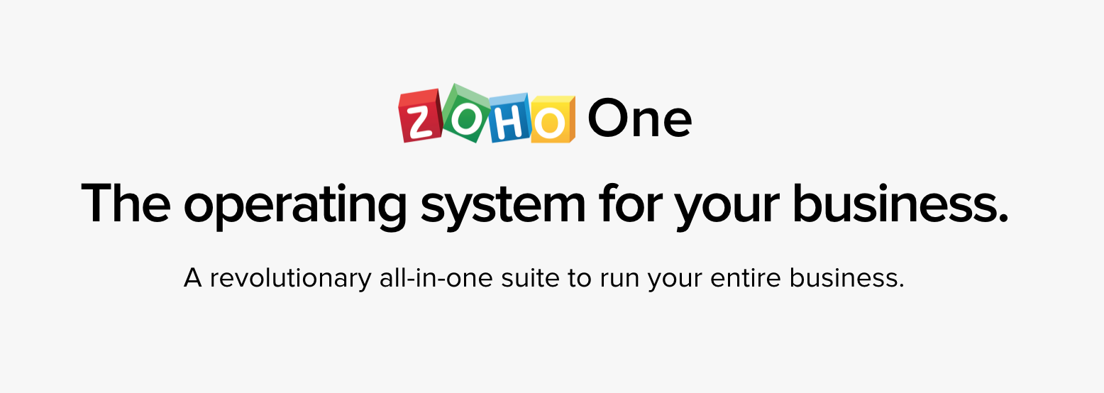 Get your startup started right—three free tool from Zoho