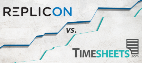 Replicon vs. Timesheets