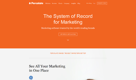 Percolate Content Marketing App