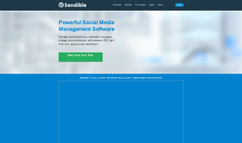 Sendible Social Media Marketing App