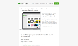 Filecamp Digital Asset Management App