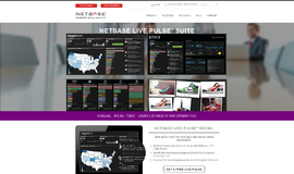 NetBase Live Pulse Social Media Marketing App