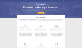 Mautic Marketing Automation App