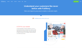 FullStory Analytics Software App