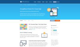 GroupDocs.Viewer Office Software App