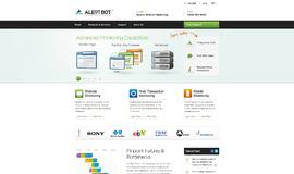 AlertBot Web Monitoring App