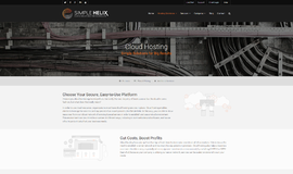 Simple Helix Cloud Web Hosting App