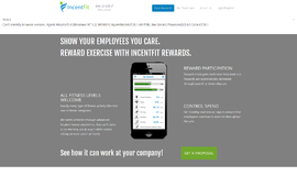 Incentfit Rewards Gamification and Loyalty App