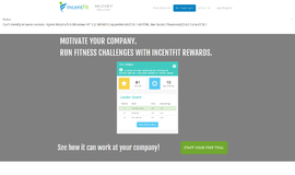 IncentFit Challenges Gamification and Loyalty App