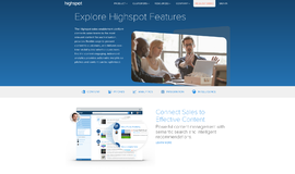 Highspot Sales Engagement Platform Engagement Tools App