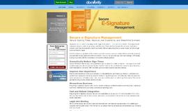 Docverify E-Signature App