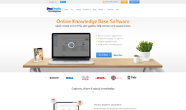 ProProfs Knowledge Base Software Help Desk App