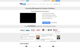 ProProfs Training Maker Learning Management System App