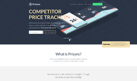 Prisync Competitive Intelligence App