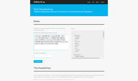 Text Classification API Sales Intelligence App