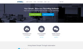 Hyrell Applicant Tracking App