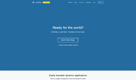 Localize Web Development App