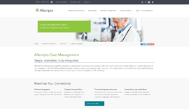 Allscripts Care Management Business Process Management App