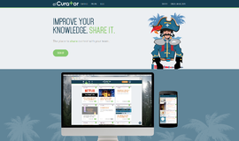 elCurator Knowledge Management App