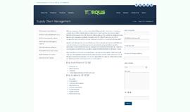 Torqus SCM Supply Chain Management App