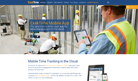 ExakTime Mobile Time and Expense App
