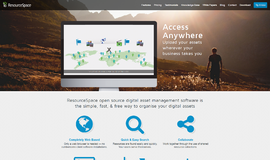 ResourceSpace Digital Asset Management App