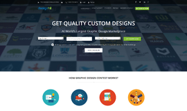 Designhill Graphic Design App