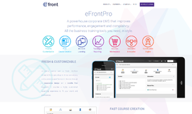 eFront Learning Management System App