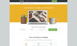 Shopify Online eCommerce App