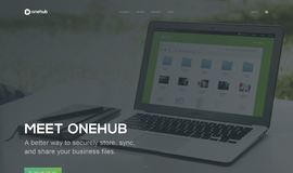 Onehub File Sharing Software App