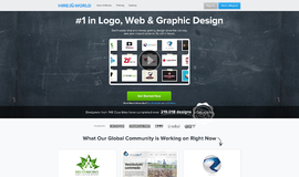 Hire The World Graphic Design App