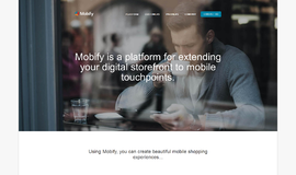 Mobify Mobile Development App