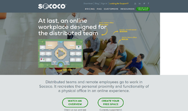 Sococo Chat and Web Conferencing App