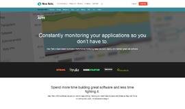 New Relic APM Web Monitoring App