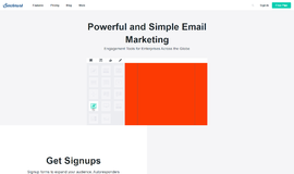 Benchmark Email Email Marketing App