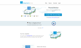 ElephantDrive Backup and Restore App