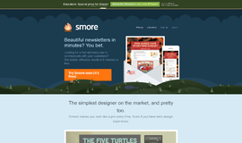 Smore Website and Blog App