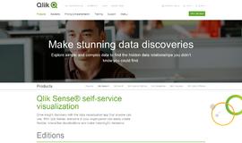Qlik Sense Data Visualization App