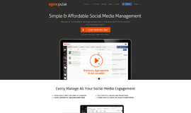 AgoraPulse Social Media Marketing App